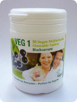 Vegan multivitamin m/ b12